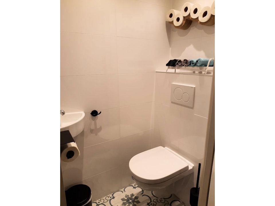 toilet op de begane grond
