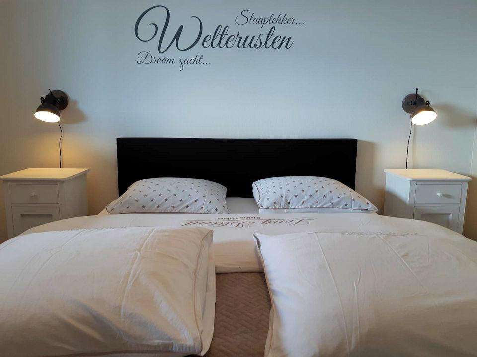 Slaapkamer 1 in het gastenverblijf